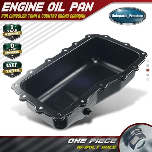 New Engine Oil Pan For Chrysler Town & Country Dodge Grand