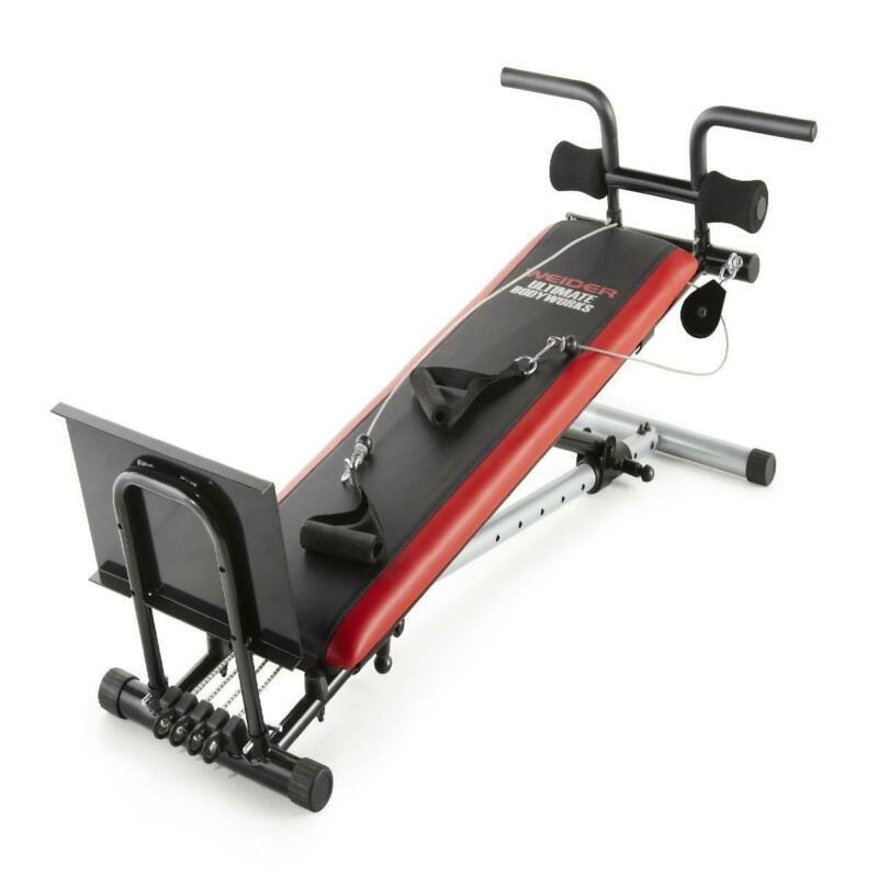 Total Gym Body Weight Exercise Equipment Strength Training H