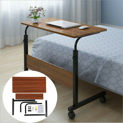 Height Adjustable Table Computer Laptop Desk Portable Office Stand Sofa Bed Tray