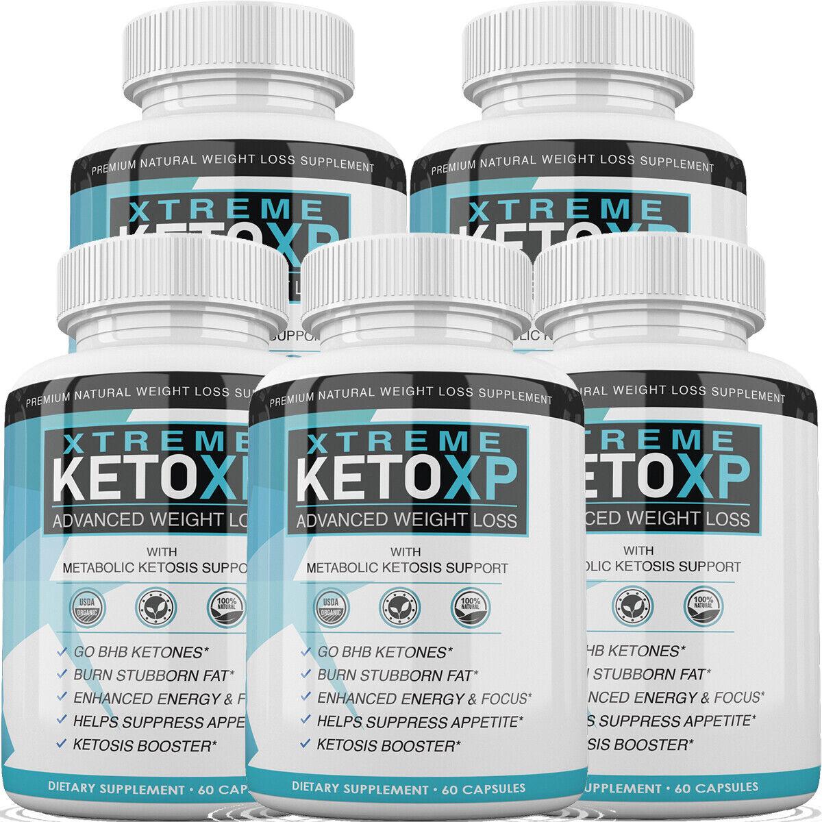 Keto XP Pills - KetoXP - BHB Ketones for Advanced Weight Loss - 5 Month Supply