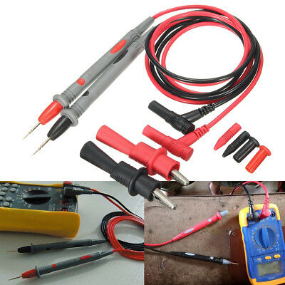 20a Test Lead Clamp Probe Cable Multimeter Agilentflukeideal Pvc Wire No Clip