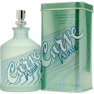 Curve Wave Cologne for Men by Liz Claiborne 4.2 oz New in Box / - Curve For Men Cologne