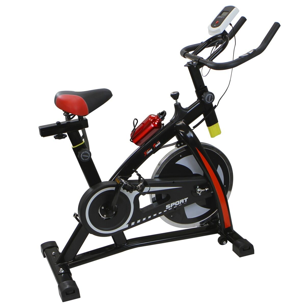 Stationary Exercise Bicycle Indoor Bike Cycling Cardio ...