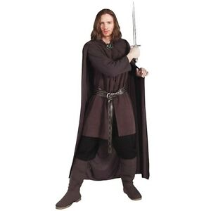 Aragorn Ranger Costume Lord of the Rings Halloween Fancy Dress