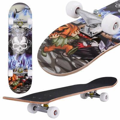 Professional Adult Skateboard Complete Wheel Truck Maple Deck Solid Longboard #