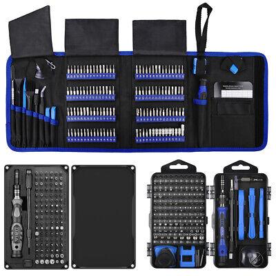 25-142-in-1 Magnetic Precision Screwdriver Phone Pc Repair Hand Tool Bit Kit Set