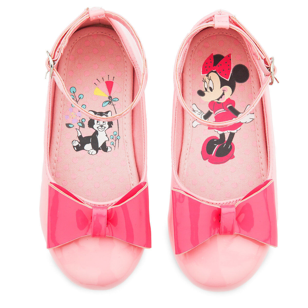 NWT Disney Store Minnie Mouse Pink Flats Shoes many sizes Girls