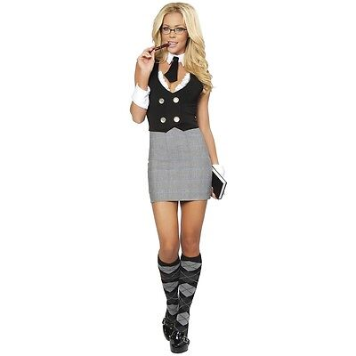 Sexy Librarian Costume Adult Teacher Secretary Halloween Fancy - Smalls Halloween Costume