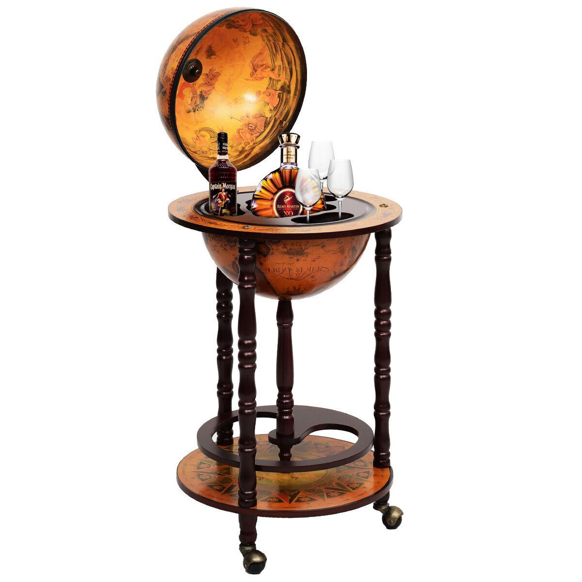 Globusbar Globus Bar Minibar Hausbar Weltkugel Cocktailbar Dekobar Tischbar