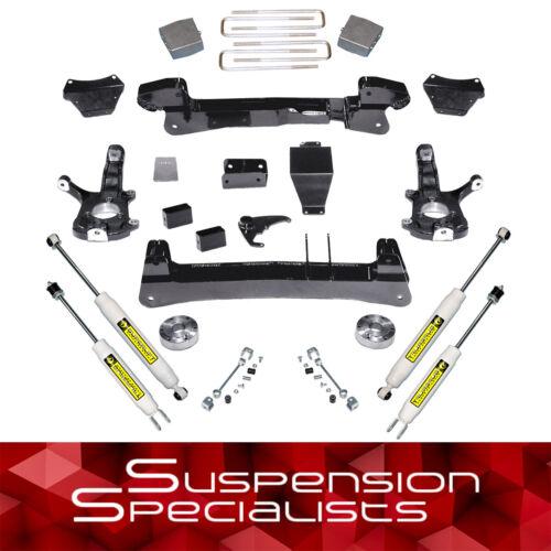 "Superlift 6"" Lift Kit + Shocks For 1999-2006 Chevy Silverado Gmc Sierra 1500 4wd"