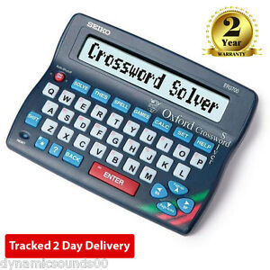 Seiko ER3700 Electronic Oxford Crossword Solver Dictionary Spellchecker Desktop