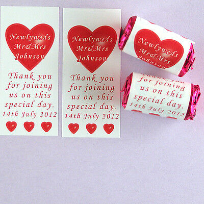Personalised LOVE HEART sweets Personalised just for you! Great Wedding - Personalized Love Heart Sweets