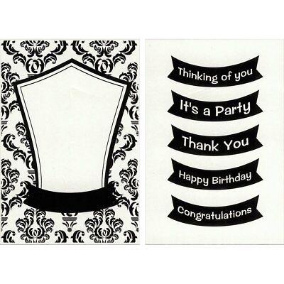 C-Gull Embossing Happy Birthday Folder 5x7-Inch