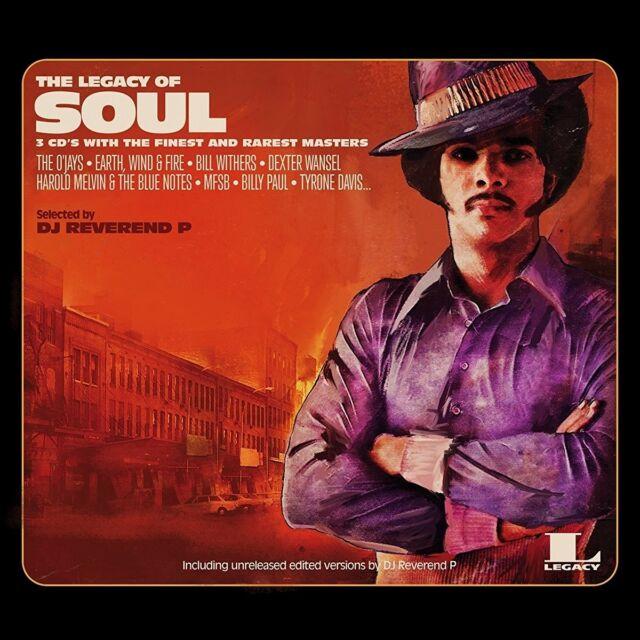 DJ Reverend P - The Legacy Of Soul (Ltd Brown  2LP Vinyl + MP3) Legacy, NEU+OVP!