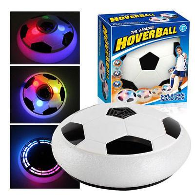 Hover Ball Football for Christmas Gift Indoor Soccer Soft Foam Floating Ball LED ()