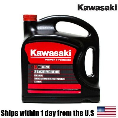 1 Gallon Genuine OEM Kawasaki 2-Cycle K-Tech Engine Oil 99969-6086