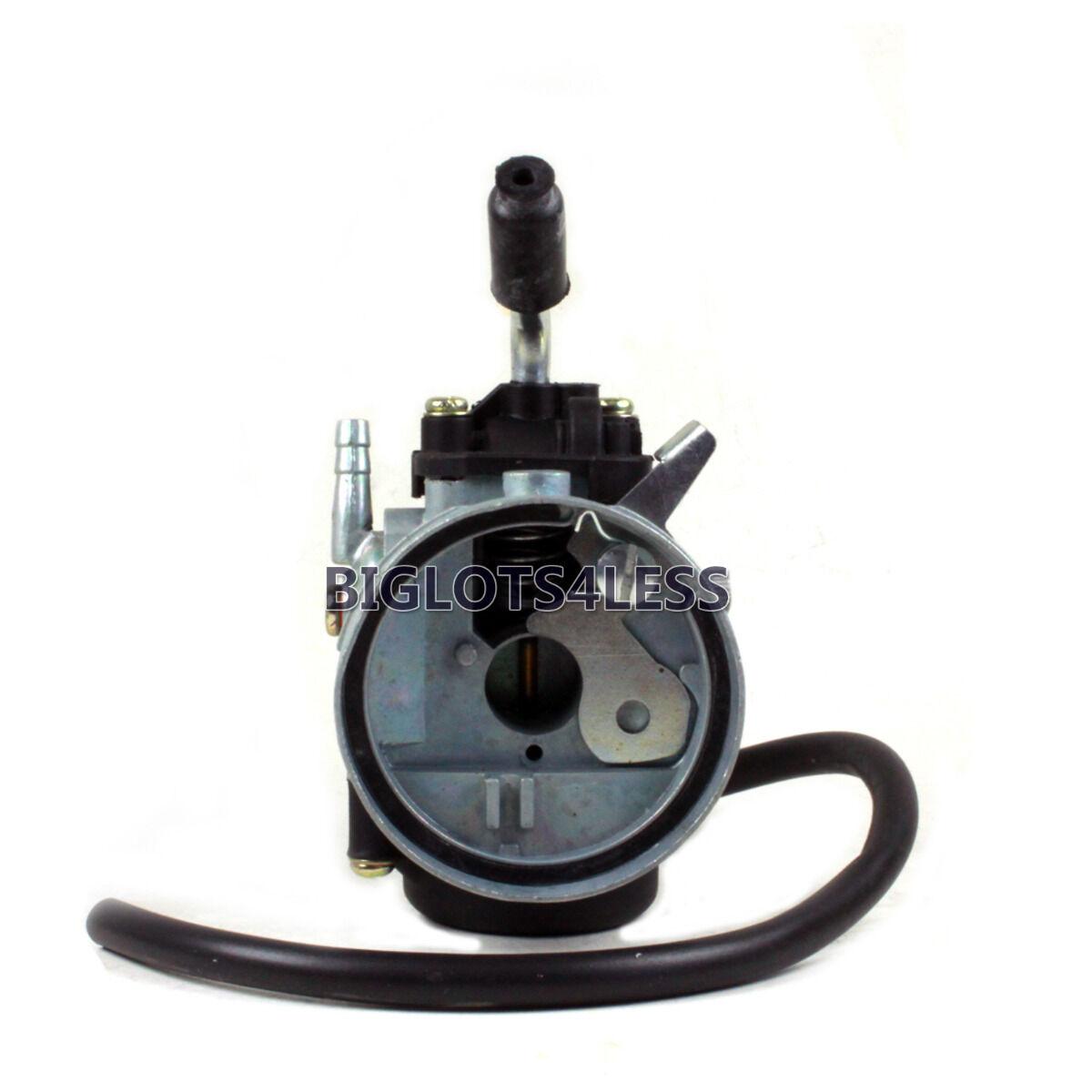 dellorto style sha 15mm carb carburetor  u0026 60mm hi perf air