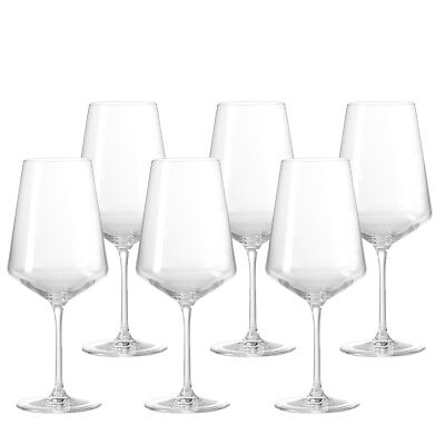 Leonardo 6er Paket 560ml Puccini Weisswein Glas Teqton Weißwein Spülmasch 069553