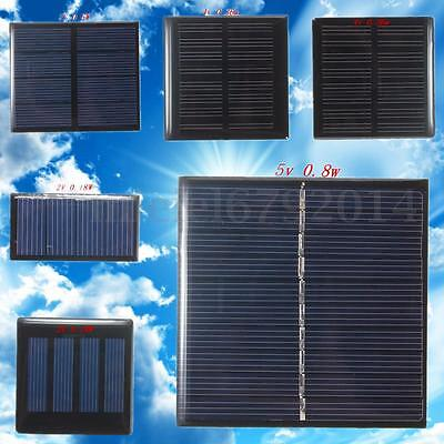 Mini 2/4/5V DIY Solar Panel Module System Home Decor for DIY Cells Phone Charger (Home Solar System)
