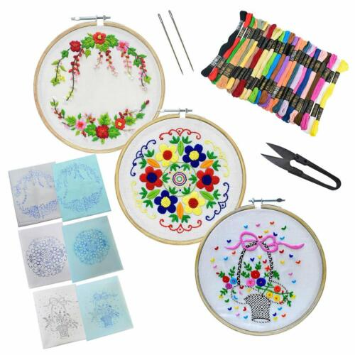 Embroiderymaterial Hand Embroidery Kit Combo-3