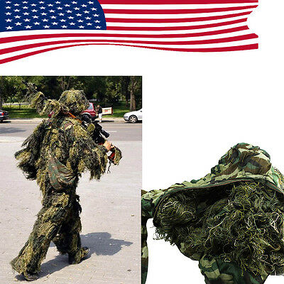 Set YOWIE SNIPER Camouflage Tactical Camo Suit For Ghillie Hunting Birding