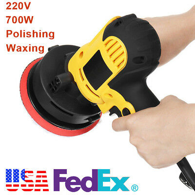 "700W 5"" Auto Car Electri Paint Polisher/Buffer Waxer Machine Adjustable Speed for sale  Dayton"
