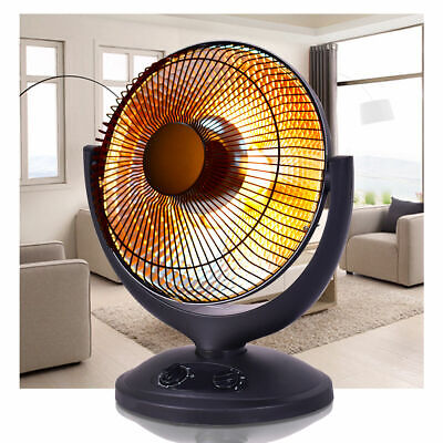 Electric Parabolic Oscillating Infrared Radiant Space Heater W/Timer Home covid 19 (Electric Infrared Radiant Heaters coronavirus)