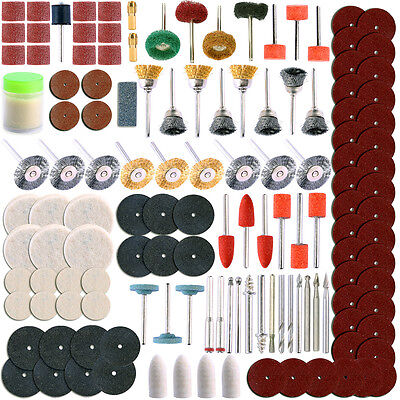 350 PC Dremel Rotary Tool Accessories Tool Kit Sanding Cutting Grinder Set