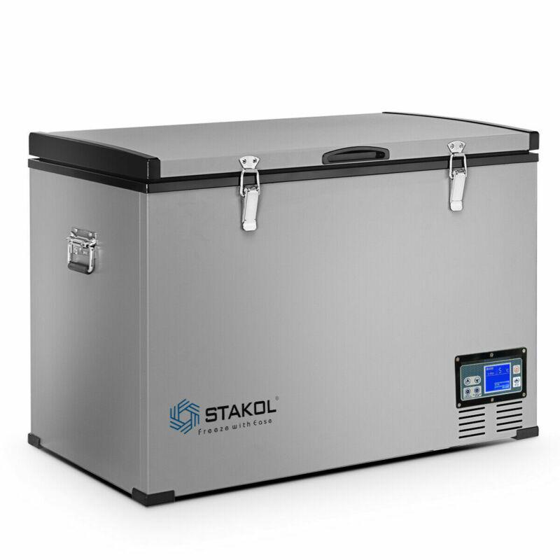 100-Quart Portable Electric Car Freezer Refrigerator Cooler Compressor Camping