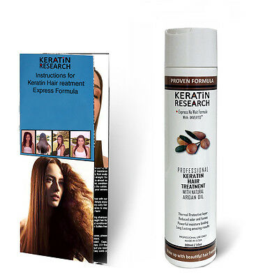 Brazilian Complex Hair Keratin Treatment 300ml with Moroccan Argan oil Best