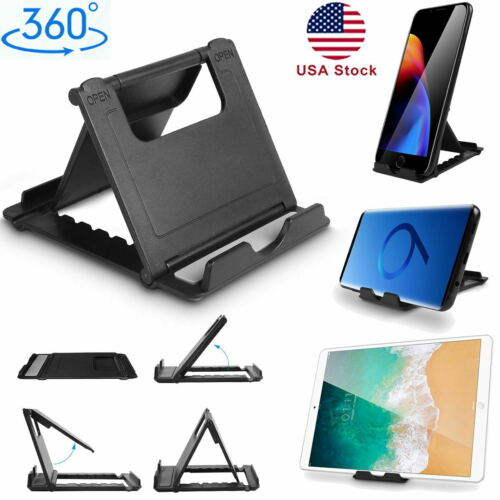 mini foldable cell phone tablet desk stand