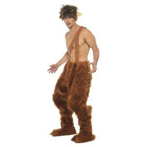 Pan Costume Satyr Faun Greek or Roman Mythology Adult Halloween Fancy Dress  sc 1 st  eBay & Satyr Costume | eBay