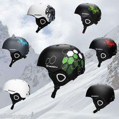 Moon Ski Helmet Skateboard Snowboard Snow Protective Helmet Cap S M L Xl Winter