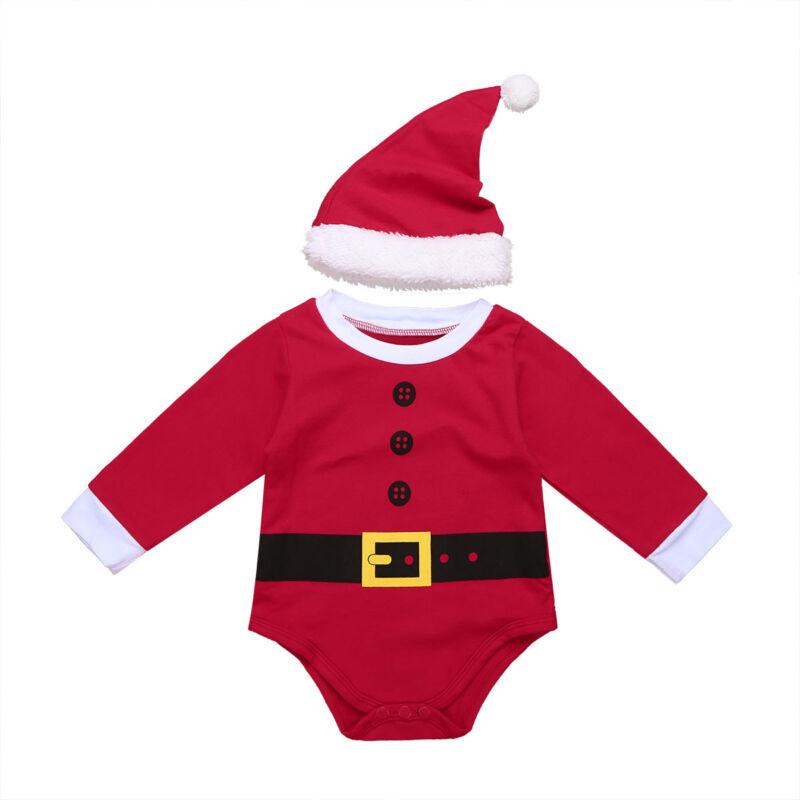 weihnachts set unisex langarm strampler mit weihnachtsmann. Black Bedroom Furniture Sets. Home Design Ideas