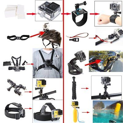 50In1 Action Camera Accessory Kit for GoPro Hero Video set with Sony Sports