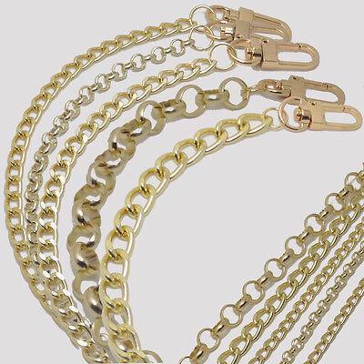 Purse Gold Chain Strap Handbags Handle Shoulder Crossbody Metal Replacement