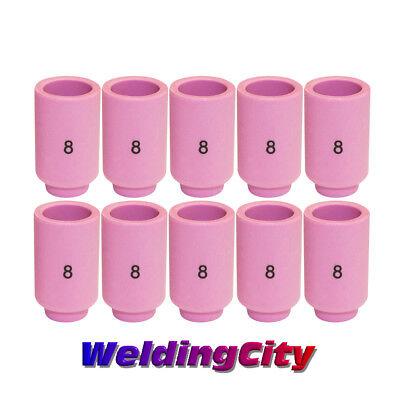 Weldingcity 10-pk Ceramic Cup Nozzle 13n12 8 12 Tig Welding Torch 92025 Us