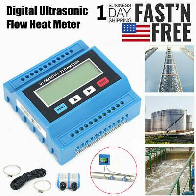 Digital Wall Mounted Ultrasonic Water Flow Meter Flowmeter Heat Meter Tuf-2000m