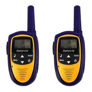1Pair Retevis RT31 2-Way Radio UHF Kids Walkie Talkie 0.5W 8CH LCD Flashlight