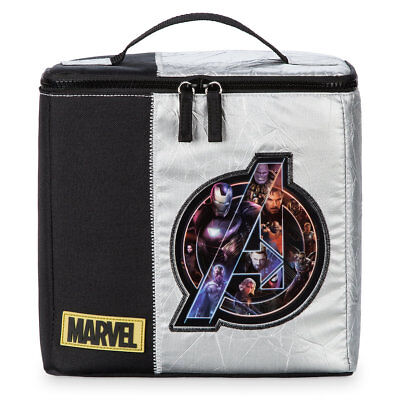 NWT Disney Store Marvel Avengers Lunch Box Tote Bag School