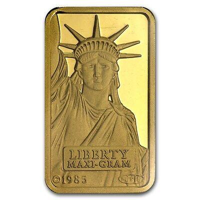 5 Gram Statue Of Liberty Credit Suisse Gold Bar   Sku  45922