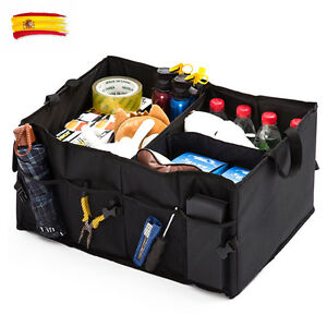 Negro-Bolsa-Organizador-Plegable-Para-Maletero-De-Coche-Caja-Almacenaje-STOCK