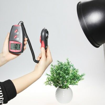 Us High Accuracy 50000 Lux Digital Lcd Light Meter Photometer Range Luxmeter