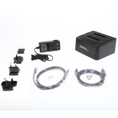 StarTech USB 3.0/eSATA Dual Hard Drive Docking Station - SKU#1336095