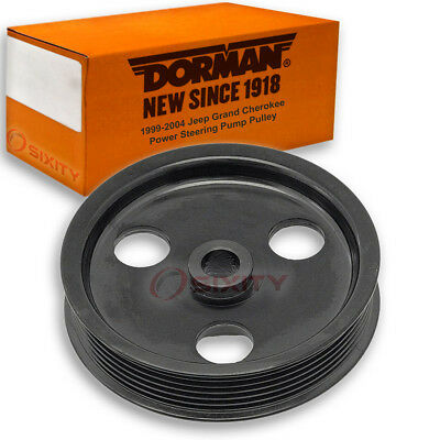 Dorman Power Steering Pump Pulley for Jeep Grand Cherokee 1999-2004 4.7L V8