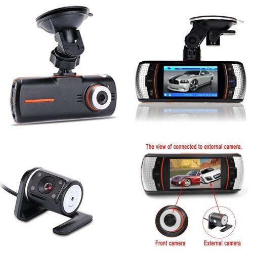 "2.7"" HD 1080P Car Dash Camera DVR Vehicle Front and Rear Dua"
