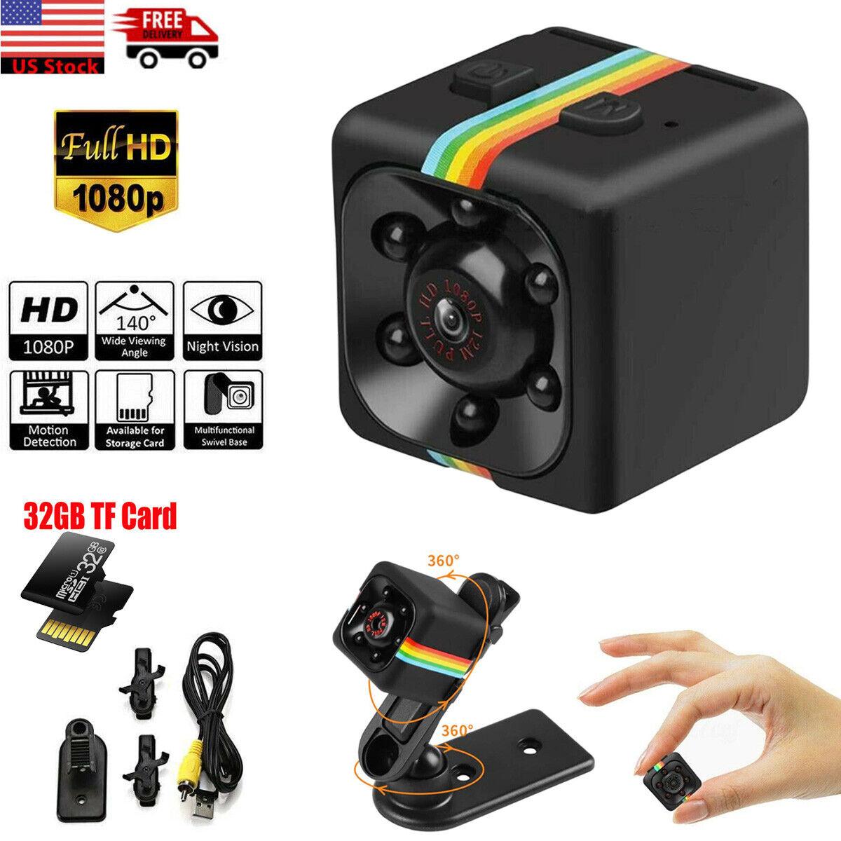 SQ11 Cop Spy Nanny Camera Wireless Hidden Motion DV HD 1080P
