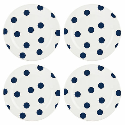 kate spade new york All in Good Taste Deco Dot Cobalt Salad Plate - Set of 12