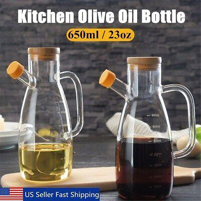 Olive Oil Sprayer Liquor Dispenser Wine Pourers Wood Top Bee