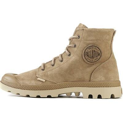NIB by PALLADIUM Pampa Hi SDE UL Men's Incense/Putty Suede Chukka Ankle Boots